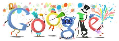 Google Logo: New Year's Eve 2011