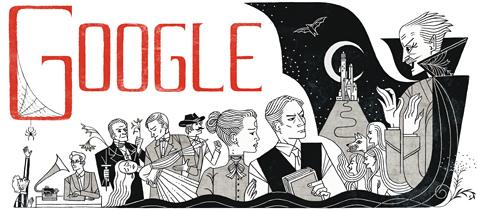 احتفال جوجل برام ستوكر bram-stoker-2012-hp.