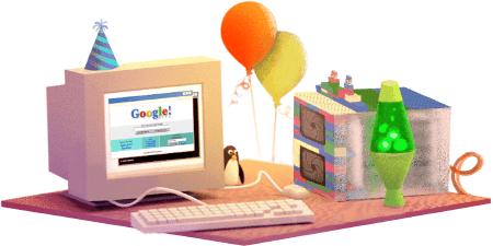 الذكرى ال17 تأسيس شركة google googles-17th-birthda