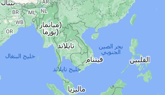 خريطة فيتنام